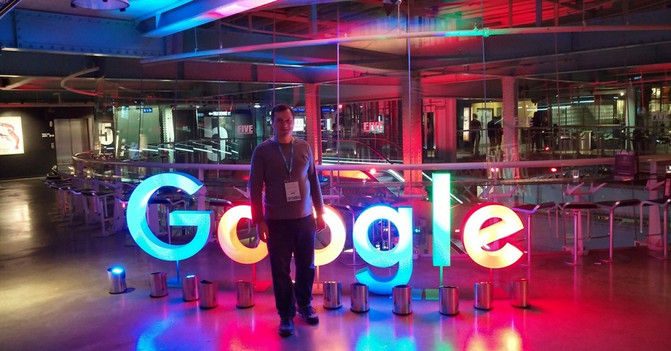 Google Top Contributor Summit Dublin 2017 Vivantina
