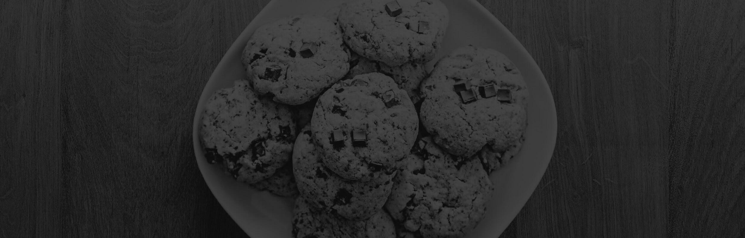 cookies čierno-biele