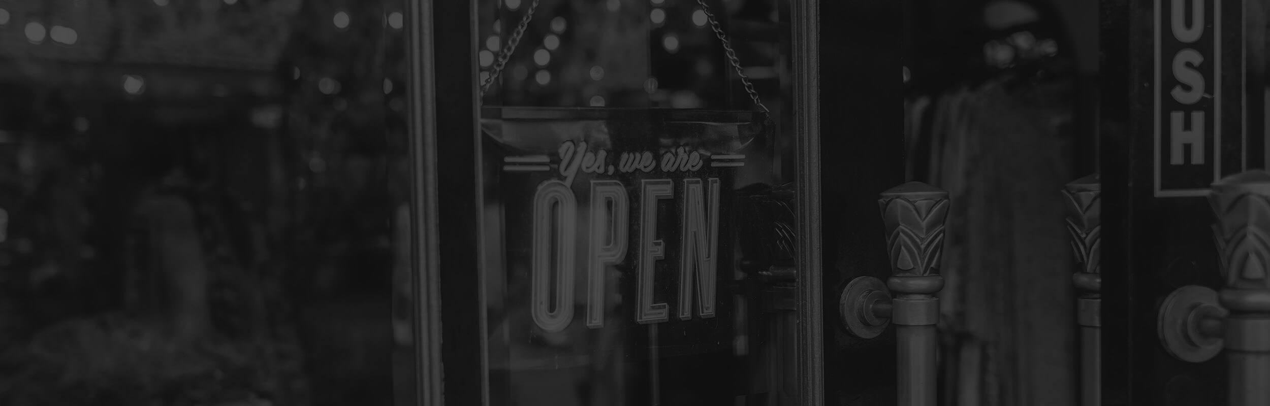 Nápis Open