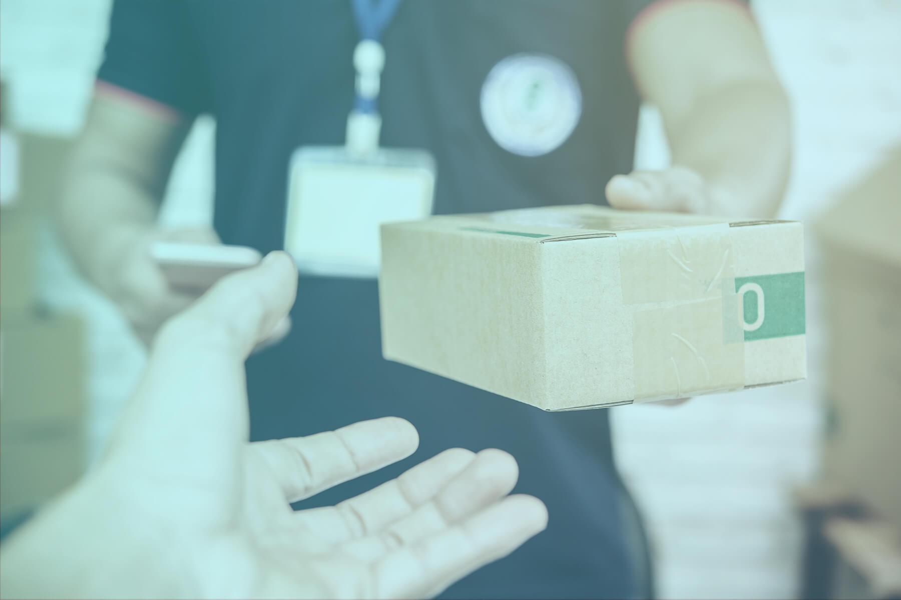 preberanie balíčka