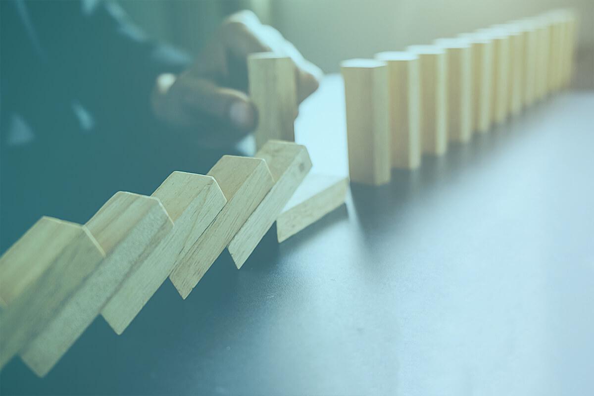 padajúce domino